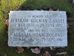 Augusta Dean <I>Bourne</I> Candee