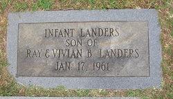 Infant Son Landers