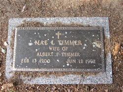 Mae L <I>Stegenga</I> Timmer