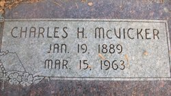 Charles H McVicker