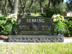 Russell J Sebring