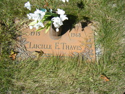 Lucille E Thaves