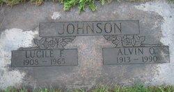 Lucile Andrum Pearl <I>Farley</I> Johnson