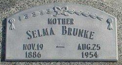 Selma F <I>Jordan</I> Brunke