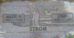 Marie B Strom
