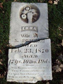 """Delilah Emeline """"Emma"""" <I>Baker</I> Schenck"""