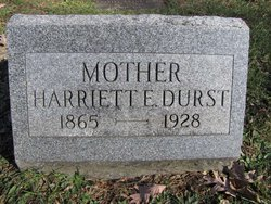"Harriett Ellen ""Hattie"" Durst"