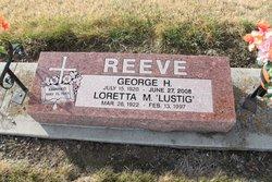 Loretta M <I>Lustig</I> Reeve