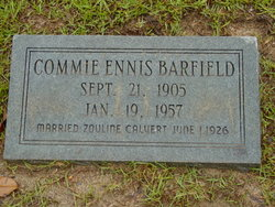 Commie <I>Ennis</I> Barfield