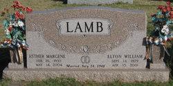 Esther Margene <I>Absher</I> Lamb