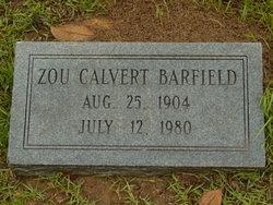 "Zouline ""Zou"" <I>Calvert</I> Barfield"