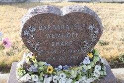 Barbara Sue <I>Sharp</I> Wemhoff
