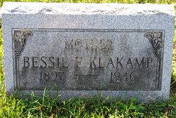 Bessie Elzina <I>Stoddard</I> Klakamp