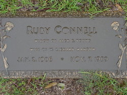 Ruby <I>Connell</I> Mangum