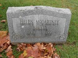 Helen <I>McCartney</I> Melvin