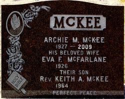 Eva F. <I>McFarlane</I> McKee