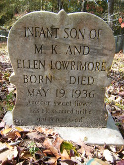 Infant Son Lowrimore
