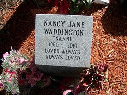 """Nancy Jane """"Nanni"""" Waddington"""