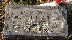 Infant son #1 Harris