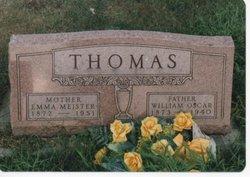 Emma <I>Meister</I> Thomas