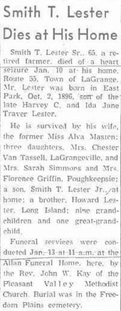 Smith Traver Lester, Sr