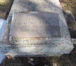 Louis Matthews, Sr