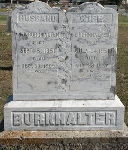Lizzie P. <I>McMillan</I> Burkhalter