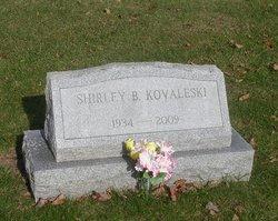Shirley <I>Sheldon</I> Kovaleski
