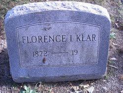 Florence Isabel <I>Ouderkirk</I> Klar