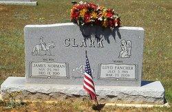 """Loyd """"Bubbie"""" <I>Fancher</I> Clark"""