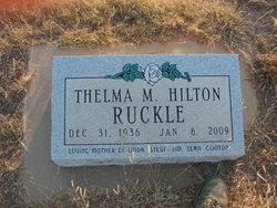 Thelma M <I>Hilton</I> Ruckle