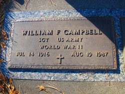 Sgt William F. Campbell