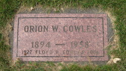 Orion Winford Cowles