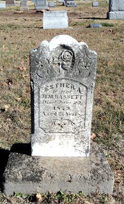 Esther A. <I>Noyes</I> Bassett