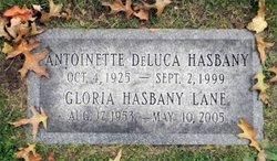 Antoinette <I>DeLuca</I> Hasbany