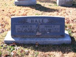 Abbie Pauline <I>Highfill</I> Hale