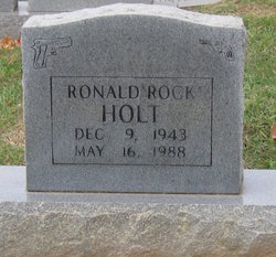 "Ronald ""Rock"" Holt"