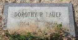 Dorothy P Lauer