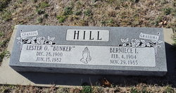 Berniece I. <I>Turner</I> Hill