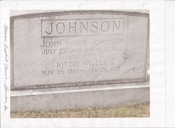 Kattie Waller Johnson