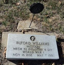 """Buford """"Bill"""" Williams"""