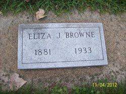 Eliza Jane <I>Demuth</I> Browne