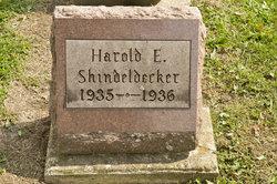 Harold Eugene Shindeldecker