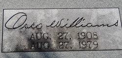 Osco Williams