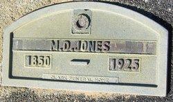 M D Jones