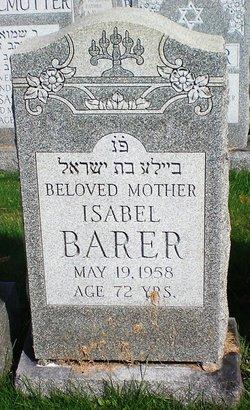 Isabel Barer