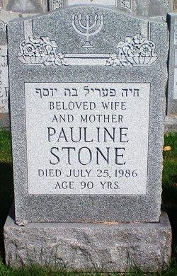 "Pauline ""Pollie"" <I>Kurtz</I> Stone"
