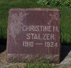 Christine M. Stalzer