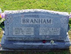 Hazel June <I>Ross</I> Branham