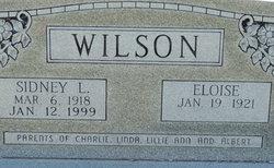 Sidney L Wilson